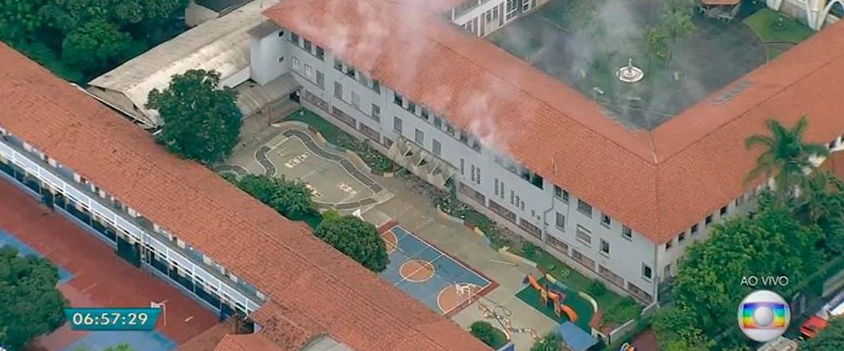 Freira morre por causa de incêndio em convento, em Belo Horizonte