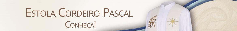 Banner Estola Cordeiro Pascal