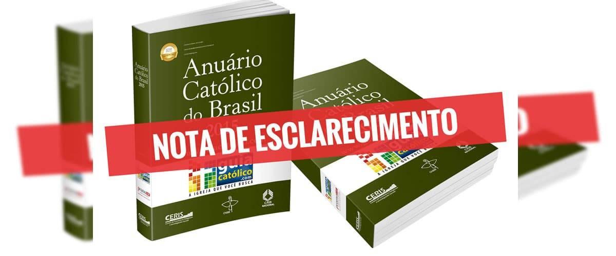 Fique atento! Golpistas estão utilizando o anuário católico para aplicar golpes em paróquias
