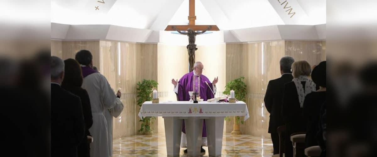 "Papa Francisco: ""Viver a vida assim como ela é; a preguiça paralisa"""