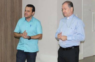 Campanha da Fraternidade: Bispo da Diocese de Colatina/ES recebe vereadores para falar sobre o tema