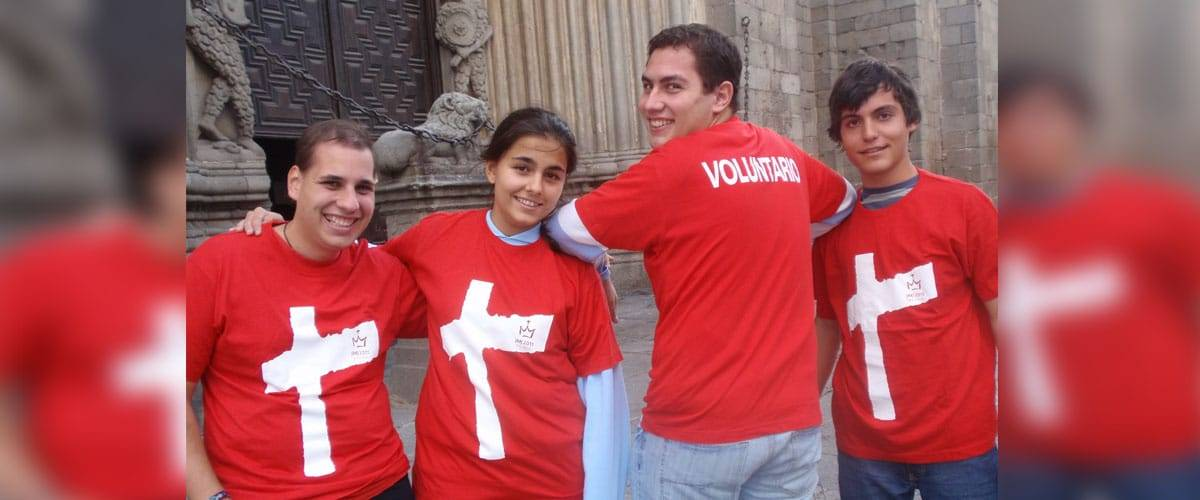 JMJ: Como ser um voluntário?