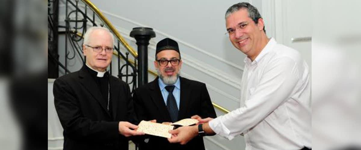Líderes católico, judeu e muçulmano repudiam violência em nome da religião