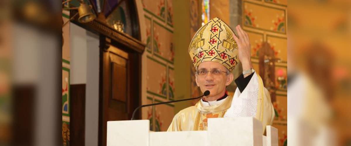 Dom Francisco Carlos Bach é nomeado bispo para a diocese de Joinville (SC)