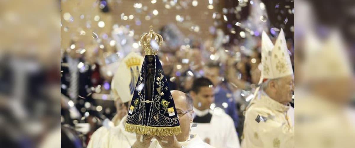 Bispo da Diocese de Colatina ES recebe imagem jubilar de Aparecida na próxima sexta