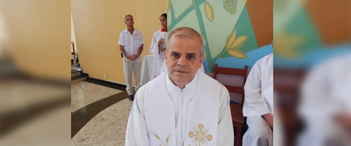 Pe Jacy Diniz Rocha é nomeado bispo para a diocese de São Luiz de Cáceres (MT)