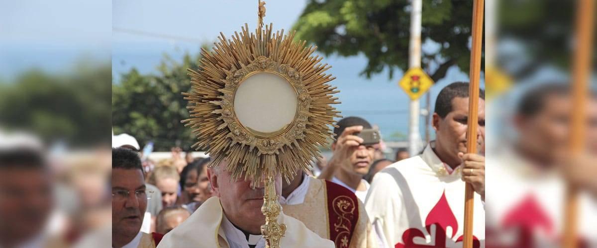 As celebrações de Corpus Christi no Brasil