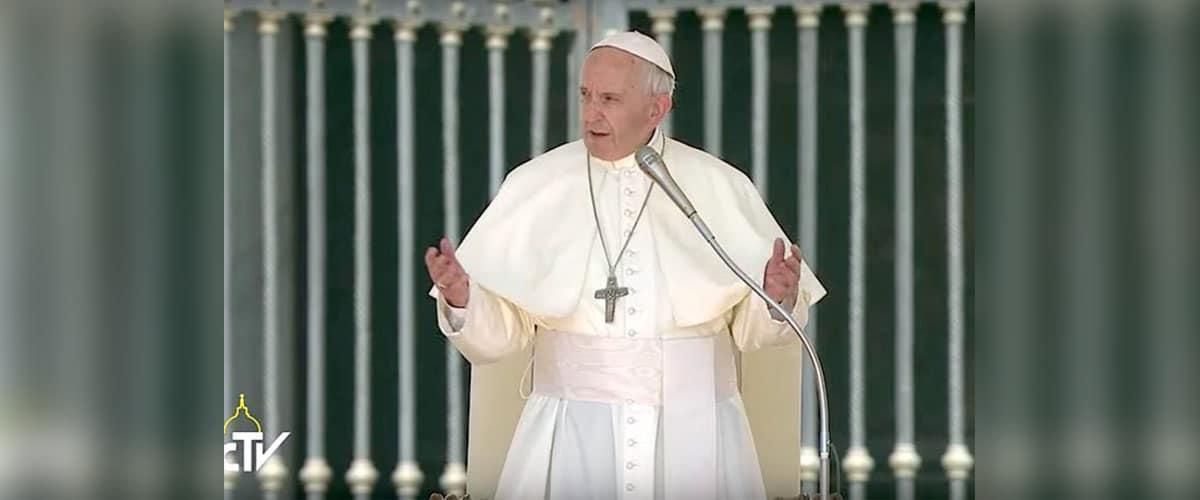 """""""A única força do cristão é o Evangelho"""", afirma Francisco"""