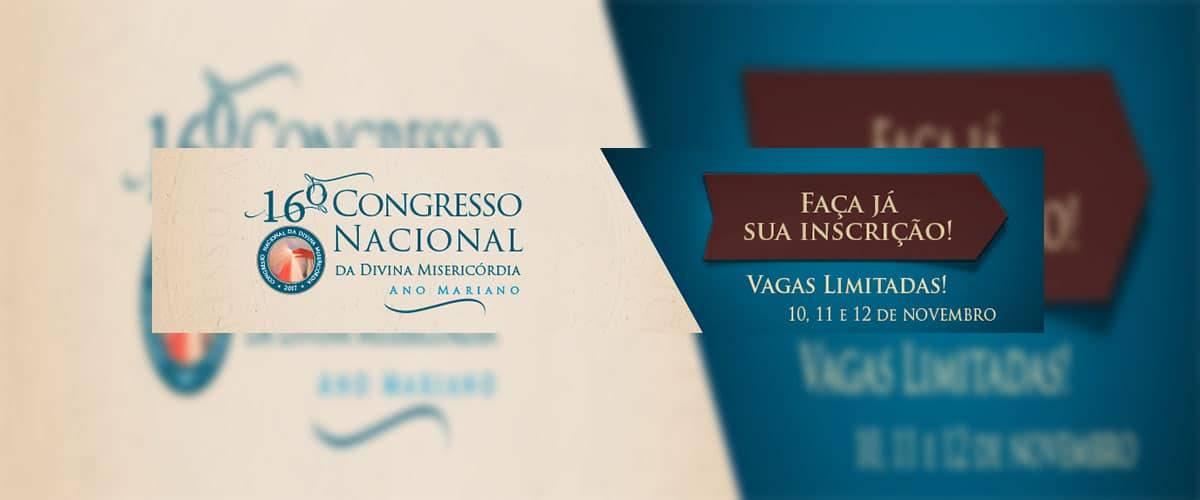 Participe do 16º Congresso Nacional da Misericórdia