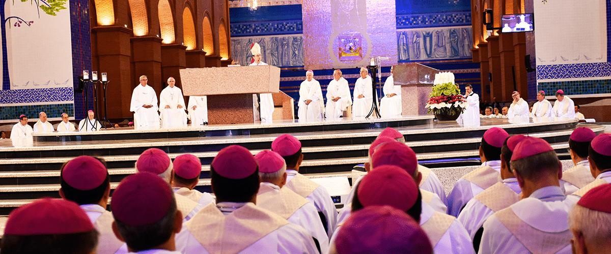 Bispos do Brasil se reúnem em Aparecida para a 56ª Assembleia Geral da CNBB