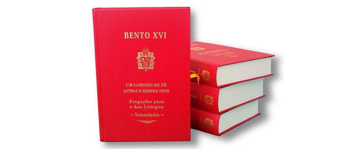 Livro trás principais homilias de Bento XVI