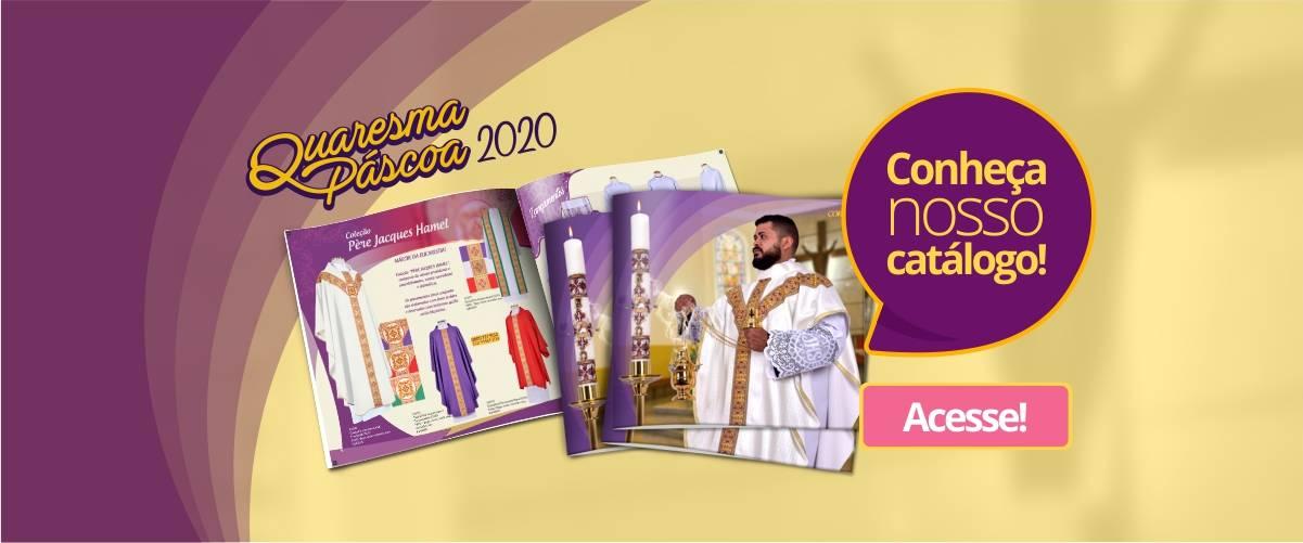 Baixe nosso catálogo Quaresma e Páscoa 2020